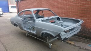 Vauxhall Firenza metalwork and paintwork