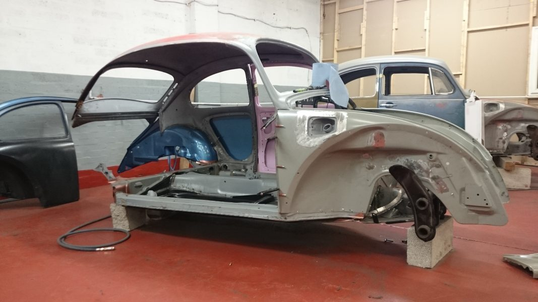 Late Beetle full restoration. Lots of metalwork required.
