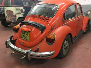 Tomato red GT Beetle full restoration