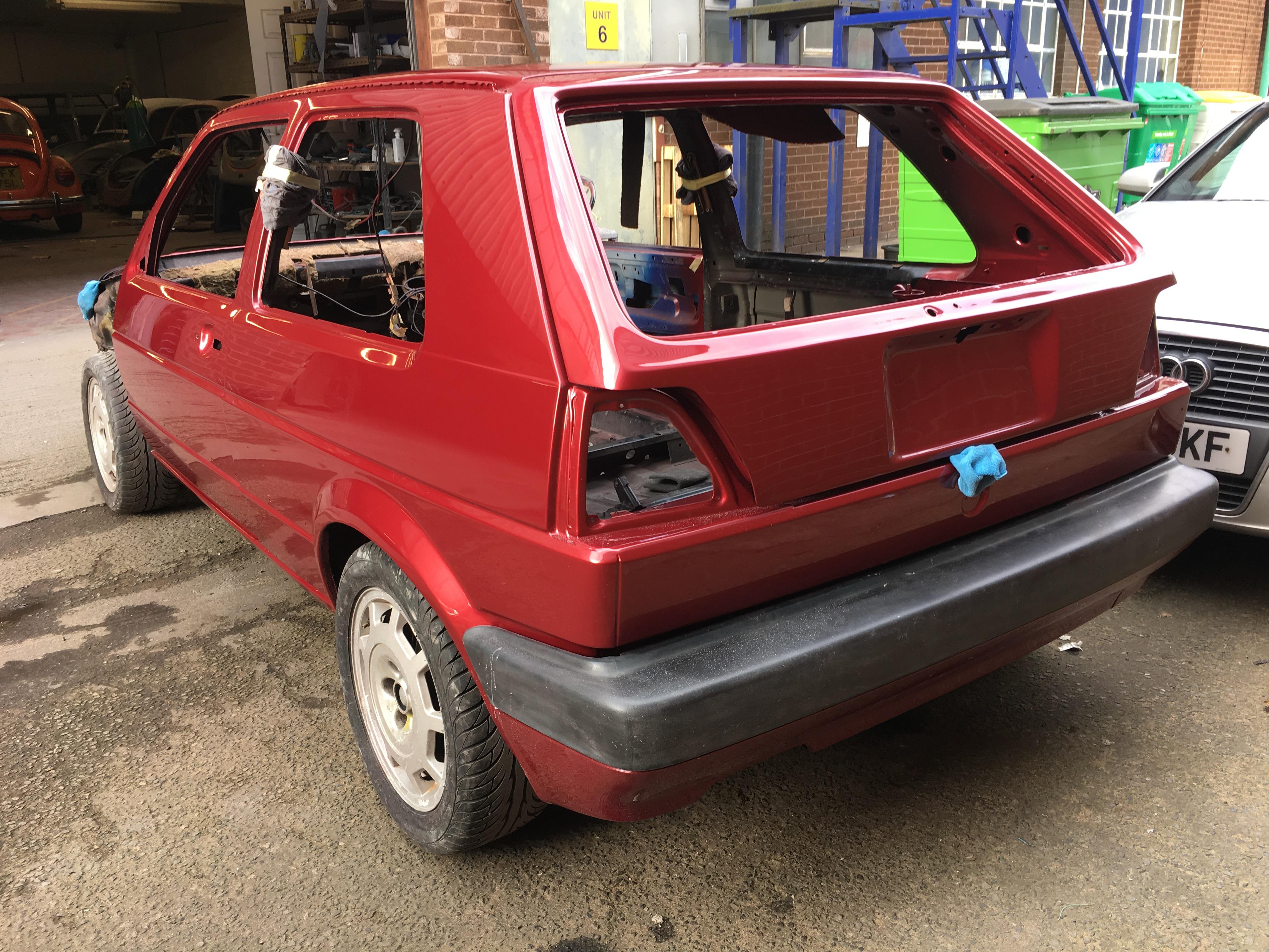 Mk2 Golf GTI Paintwork