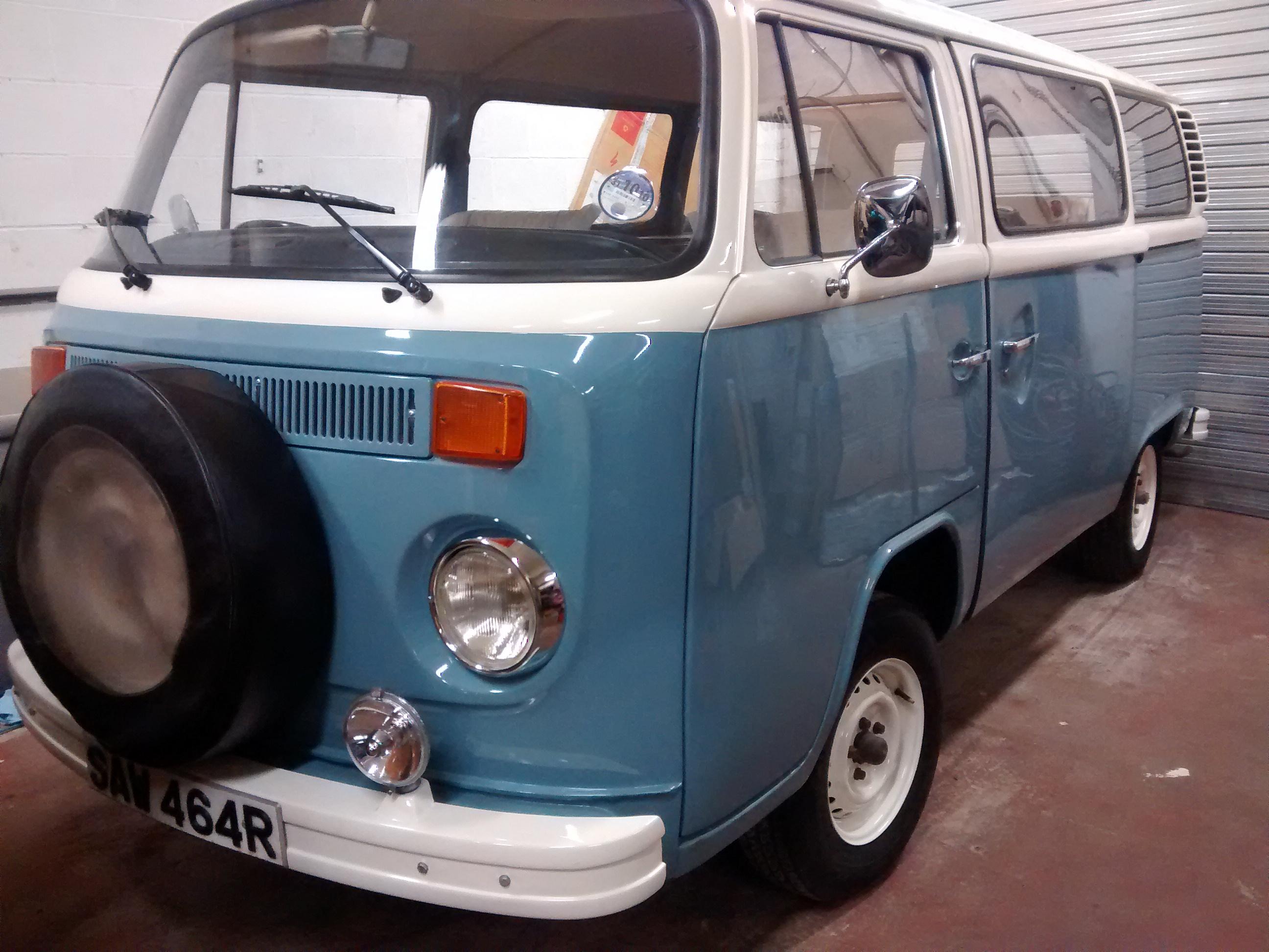 Completed Van