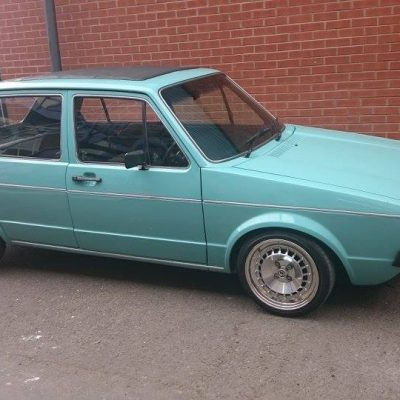 Mk1 Golf Paint Repairs